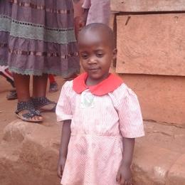 Ugandan child